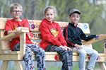 Monsignor Leo Cleary Catholic Elementary School buddy benches