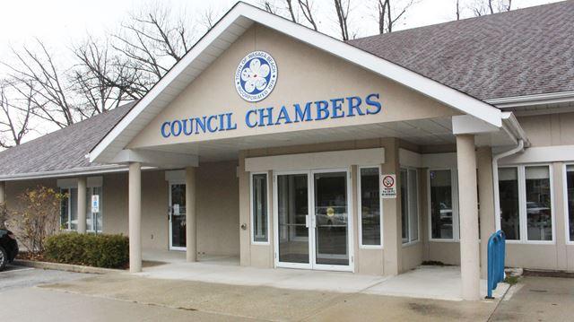 Wasaga Beach council chambers