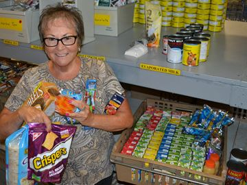 Food drive helps feed Barrie students