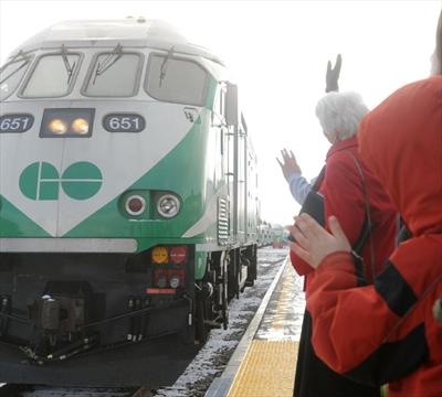 Kitchener Go Train Parking
