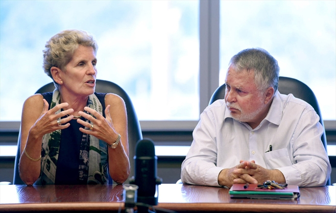 Wynne not 'philosophically opposed' to HSR operating, maintaining LRT
