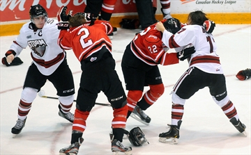 Hockey fight