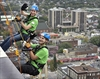 VIDEO: Fundraiser sends Big Brothers and Sisters Over the Edge