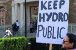 Hydro One protest