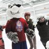 Cobourg students from Syria, China try ice skating for the first time