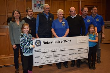 Rotary Club donation