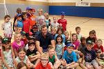Taylor Hall at the Boys and Girls Club