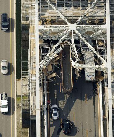 SKYWAY BRIDGE DAMAGE