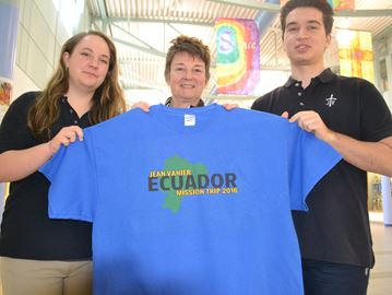 Jean Vanier students to travel from Collingwood to Ecuador on mission trip