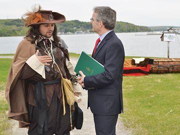 Penetanguishene gets $2.8 million for Champlain legacy park