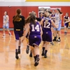 D10 girls' basketball championship night