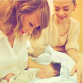 Taylor Swift meets godson-Image1