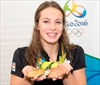 Oleksiak gets flag for Olympic closing-Image1