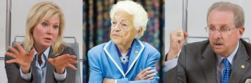 Bonnie Crombie/Hazel McCallion/Steve Mahoney
