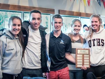 Oakville Trafalgar repeats as Ontario high school sailing regatta champs