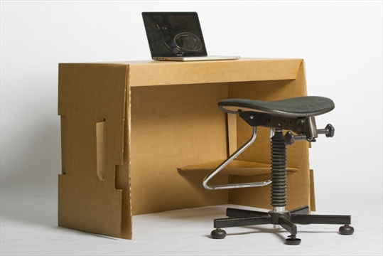 Recyclable paper office furniture geared to student market for D furniture galleries going out of business