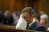 Oscar Pistorius arrives for sentencing-Image1