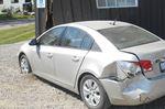 Barn and vehicles damaged