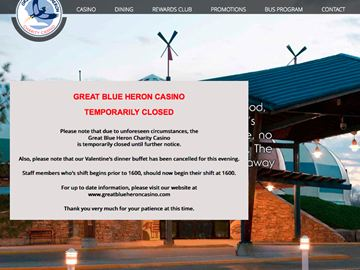 The Great Blue Heron Charity Casino