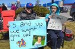 Barrie protest against autism cuts draws ire