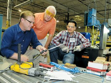 Taking aim at getting students into the trades