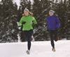 Running can be a great winter activity