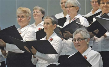 The West Ottawa Ladies Chorus, with members from Kanata, Stittsville, Nepean and the west end of the city, performed their Christmas concert - A Garland of Carols - at St. Paul Anglican Church on Dec. 1.