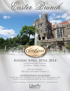 Discount coupons for casa loma