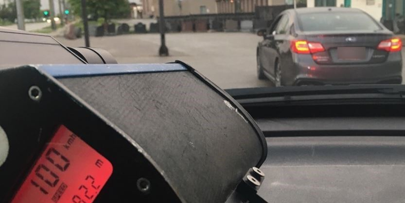 'So crazy and stupid': Police say woman, 33, speeding in Milton and texting while driving with 2 young kids in the car