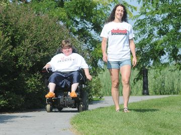 Tyler's Walk to Defeat Duchenne