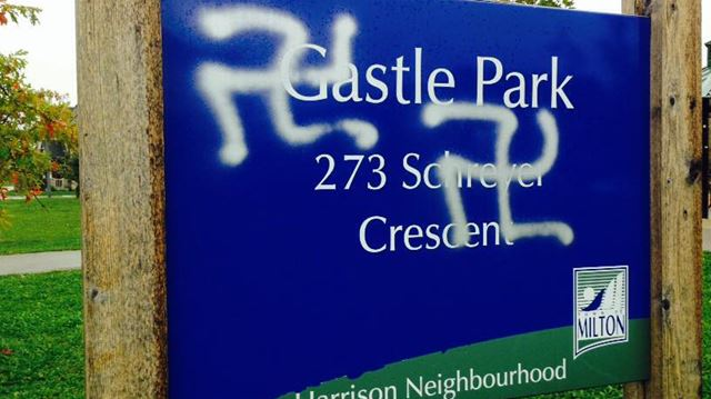 Graffiti in Milton parks upsets many councillors