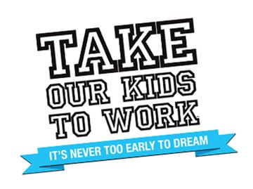 Take Our Kids to Work Day is on Nov. 2