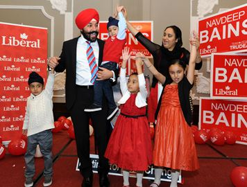 Liberal appointments mean canada now has more sikh cabinet for Navdeep s bains