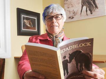 'Roadblock' by Patricia Calder
