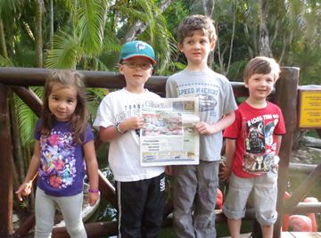 Kira and Dylan Price with Hayden and Elliot Clement on vacation in tropical Cozumel,Mexico.