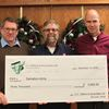 Collingwood company donates $3,000 to Salvation Army