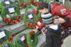 Remembrance Day draws hundreds to Midland cenotaph