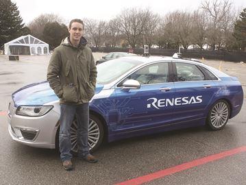 Smart cars in Stratford