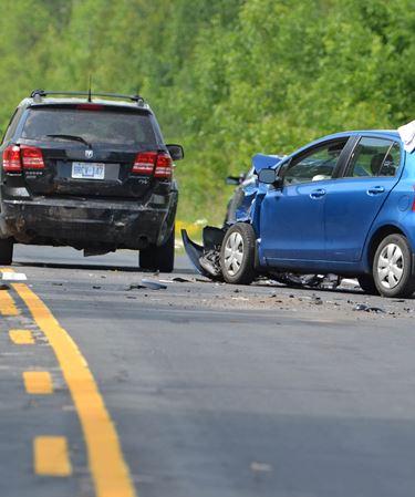 Crash near Coboconk - June 24, 2016