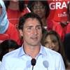 Justin Trudeau campaigns in Stephen Harper's turf