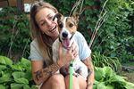 Alcona woman adopts stolen dog