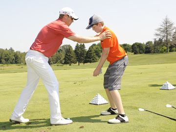 PGA golfer David Hearn visits Copetown to launch foundation