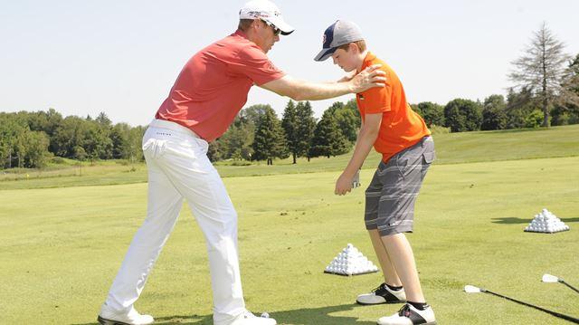 PGA golfer David Hearn visits Copetown to launch foundation