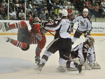 Oshawa Gens vs Peterborough Petes Game 1