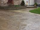 Stamped concrete vs. exposed aggregate