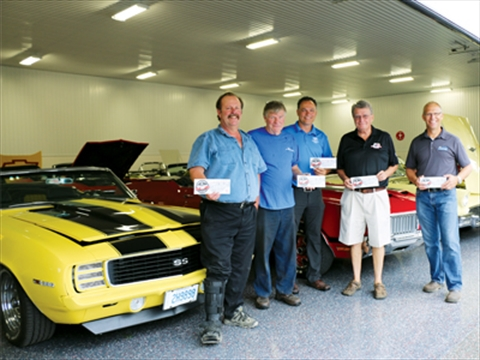 Start Your Engines Kinsmen To Hold Garage Tour Featuring World