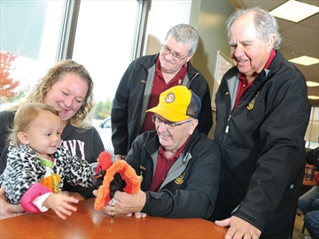 Port Perry Lions donation for hearing aid