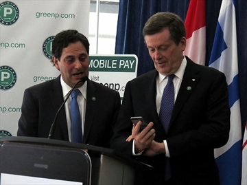 Toronto Parking mobile payment