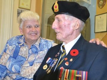 Veteran hero
