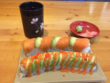 Brown Bag Betty: Osaka sushi